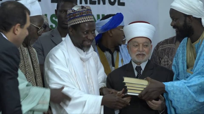 Visite du grand Mufti de la Palestine à Médina Baye (images)