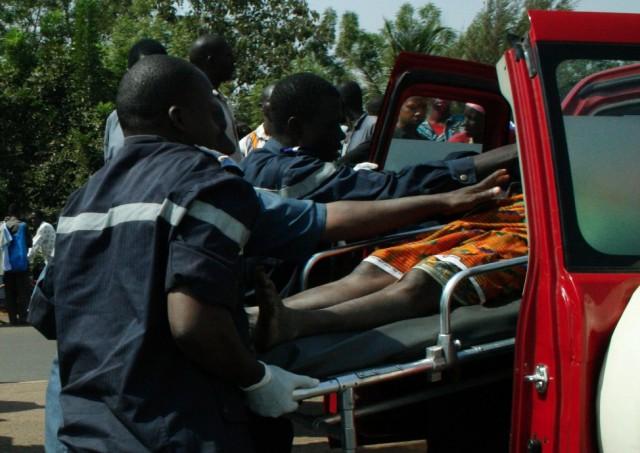 Kaolack : Une collision entre une camionnette et un particulier fait 01 mort et plusieurs blessés.