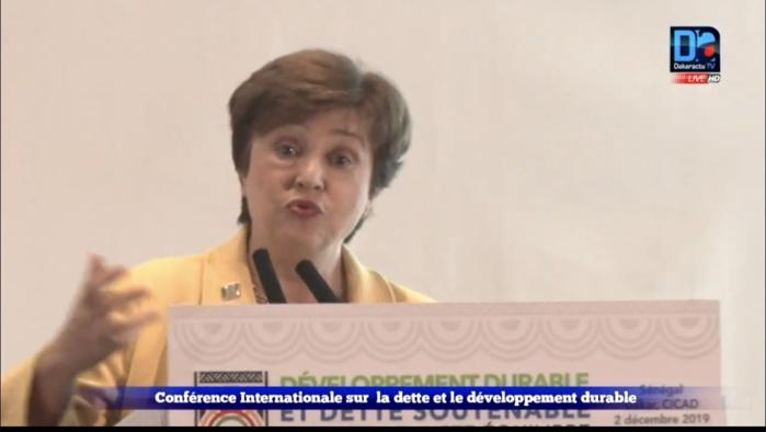 Kristalina Georgieva sur le service de la dette : « Il faut avoir des revenus publics importants. Il nous faut toutefois avoir une bonne communication pour éviter les perceptions négatives… »