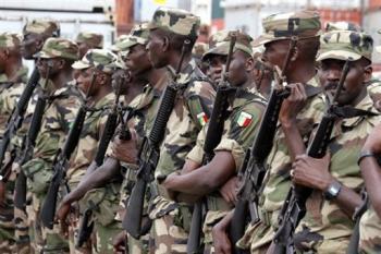 L'armée repousse les rebelles à Diouloulou.