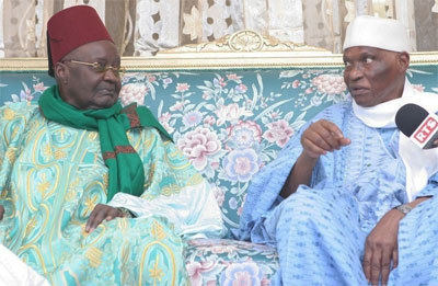 Tivaouane : Abdoulaye Wade remercie Serigne Mansour Sy et sollicite ses prières