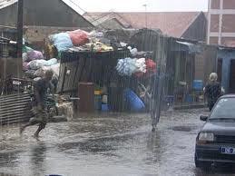 La ville de Louga secouée par une pluie hors-saison