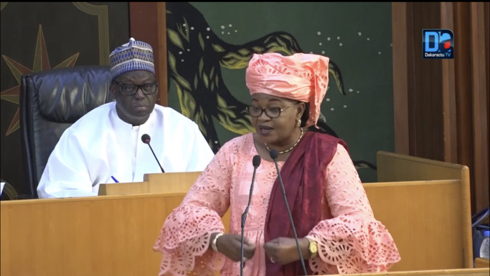 Assemblée nationale / Aïda Mbodj plaide : «On doit mettre en place un organisme de protection des artistes»