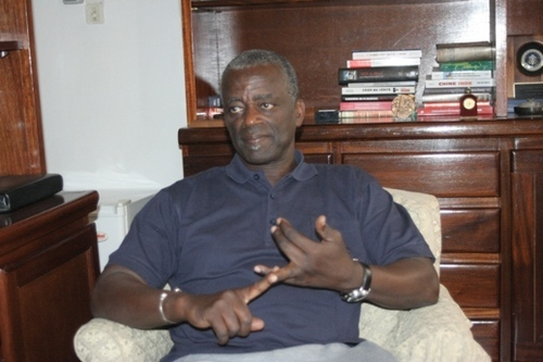 """Général Mouhamadou Mansour Seck: """"Le changement, ce n'est pas seulement Macky mais son équipe et le peuple sénégalais""""."""