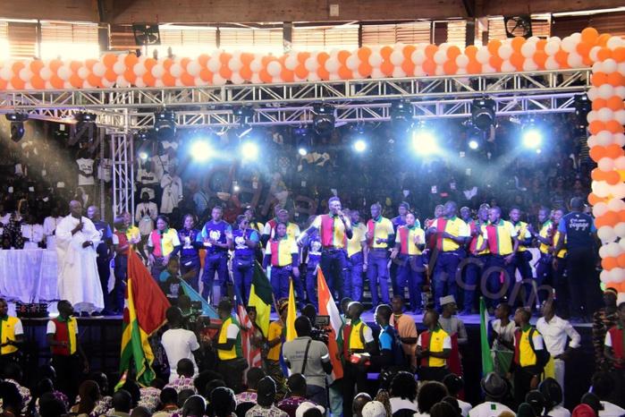 Les images de la 3ème CONVENTION DE L'ÉQUIPE DES OSCARS à Marius Ndiaye après les 2 premières éditions à Abidjan