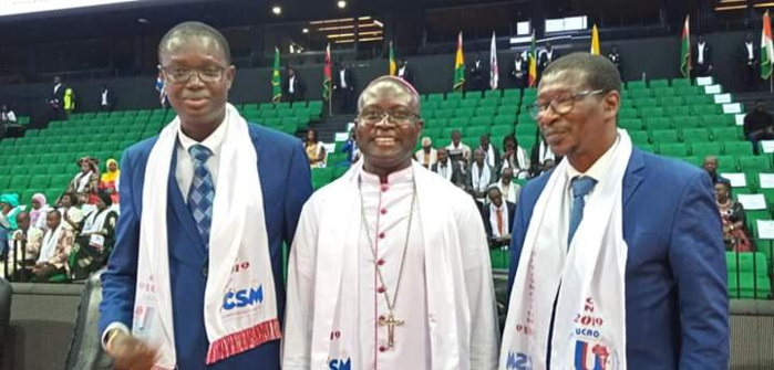 Graduation 2019 Ucao / Saint-Michel : « Les investissements du groupe chiffrés à 2 250 000 000 frs reflètent l'effort de l'Eglise dans le sous-secteur pour seconder l'action de l'Etat.» (Mgr André Guèye, Évêque de Thiès)