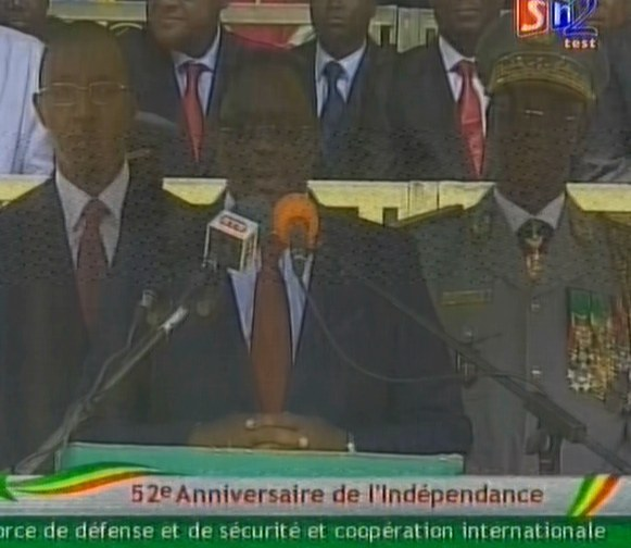 Défilé 4 avril: ce qu'on peut retenir du discours du président de la République.