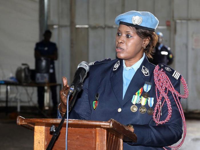 La Commandante Seynabou Diouf galvanise la jeunesse : «L'art de la vie se résume à la difficulté. Il faut juste franchir les échelons...»