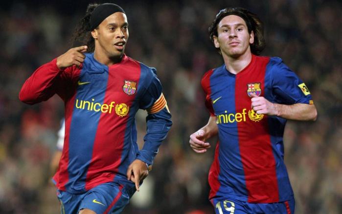 Meilleur joueur de l'histoire : Ronaldhino ne «vote» pas Lionel Messi…