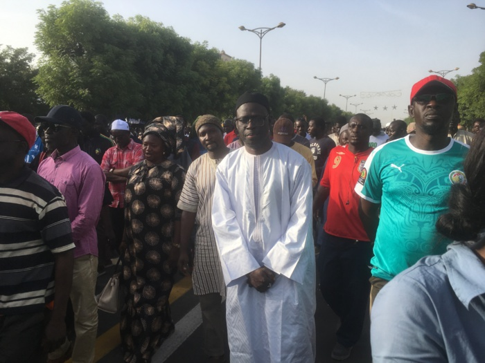 Marche contre la hausse du prix de l'électricité : ''Nous sommes ici pour dénoncer, mais surtout refuser que la paresse, l'indolence, la corruption, les dépenses inadmissibles puissent aujourd'hui être imposées au peuple'' (Cheikh Bamba Dièye)