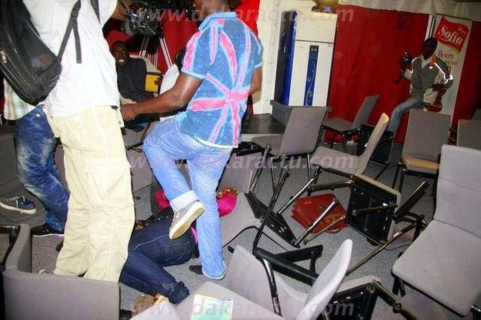"""La journaliste de """"Thiey"""" qui a été blessée (PHOTOS)"""