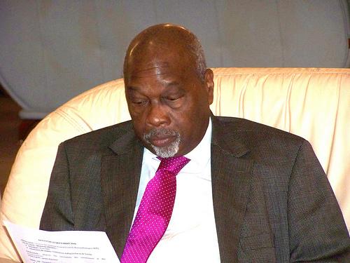 Amath Dansokho ministre d'Etat.