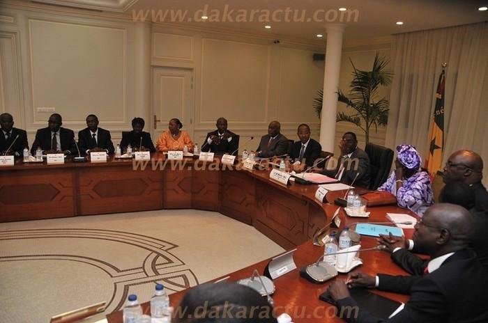 Les premières consignes de Macky Sall à ses ministres