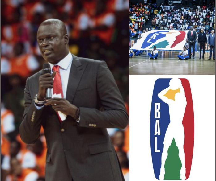Basketball Africa League (Bal) : Le nouveau logo dévoilé par Amadou Gallo Fall devant le président Paul Kagamé
