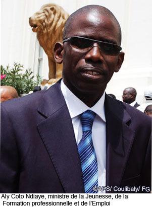 Aly Coto Ndiaye prend fonction cet après-midi.