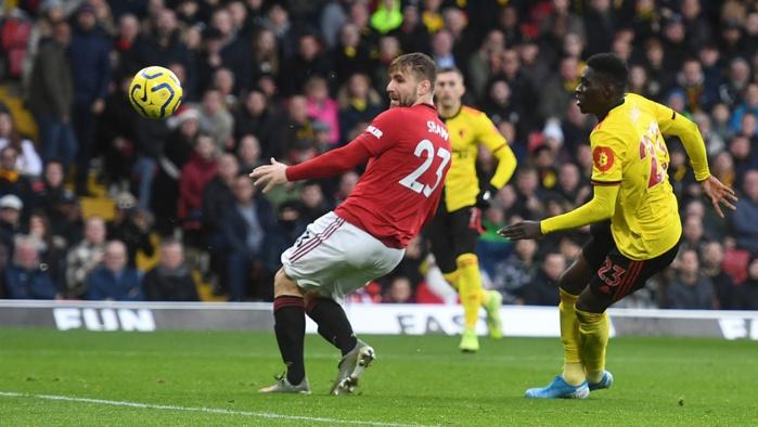 Premier League : Ismaila Sarr marque pour Watford qui battu Manchester United 2-0