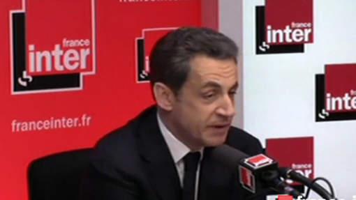 """Sarkozy: """"Cette montre est un cadeau de ma femme""""  (VIDEO)"""