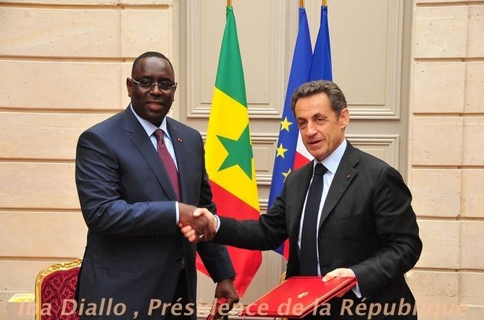 Regardez les images de la visite de Macky Sall à Paris