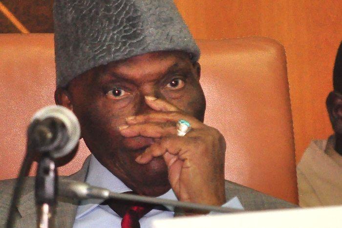 La riposte d'Abdoulaye Wade aux accusations de vols de voitures