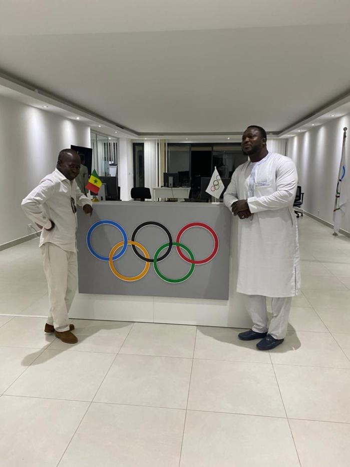 JOJ DAKAR 2022 : Modou Lo reçu par Mamadou Diagna Ndiaye, promet de jouer pleinement sa partition.