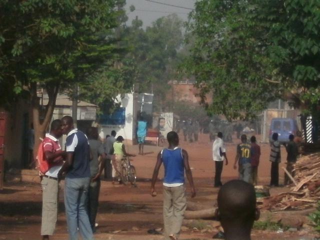 Affrontements entre gendarmes et élèves du lycée Albouri Ndiaye de Linguère.