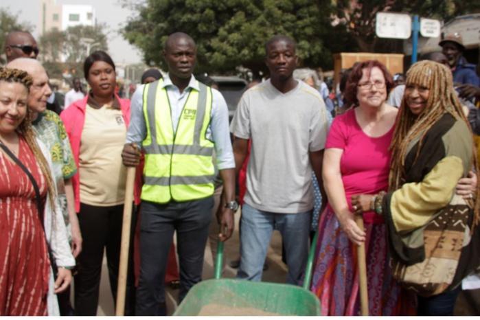 Pikine Ouest : La ville de Northampton (USA) accompagne l'initiative zéro déchet de Macky