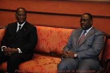 Macky Sall à Abidjan pour son baptême de feu international