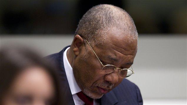 L'ancien président du Libéria jugé coupable