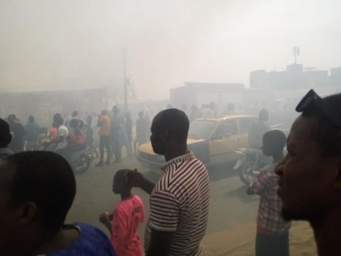Kaolack : Un incendie ravage l'atelier d'un mécanicien moto... Plusieurs millions partis en fumée (Images)