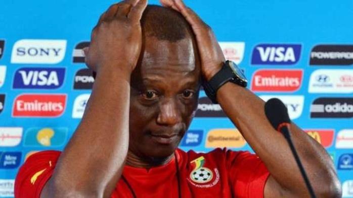 Fédération Ghanéenne de football : Le sélectionneur Appiah et l'ensemble des responsables de sélection suspendus.