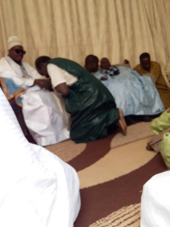MBACKÉ-  Mosquée et Daara  à la place du stade/ Le Khalife instruit Cheikh Bass de coordonner les travaux confiés aux Baayfall.