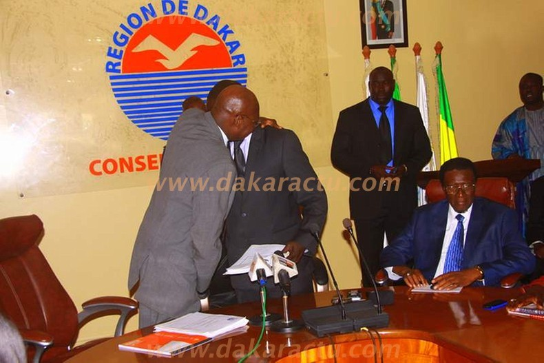Conseil régional de Dakar : Regardez les images de la passation de service entre Malick Gakou et Ousmane Badiane