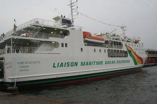 Retard du bateau «Aline Sitoë Diatta» Situation de Panique générale, ce matin, à Ziguinchor