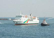 """Le Bateau « Aline Sitoé Diatta » A frôlé le pire . Selon le Commandant Makhtar Fall : """"Le bateau s'est échoué sur un banc de sable"""""""