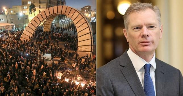 L'ambassadeur du Royaume-Uni brièvement arrêté par les autorités — Iran