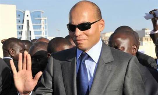 Karim Wade est arrivé à Dakar.