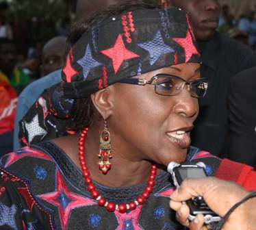Amsatou Sow Sidibé, ministre-conseiller.
