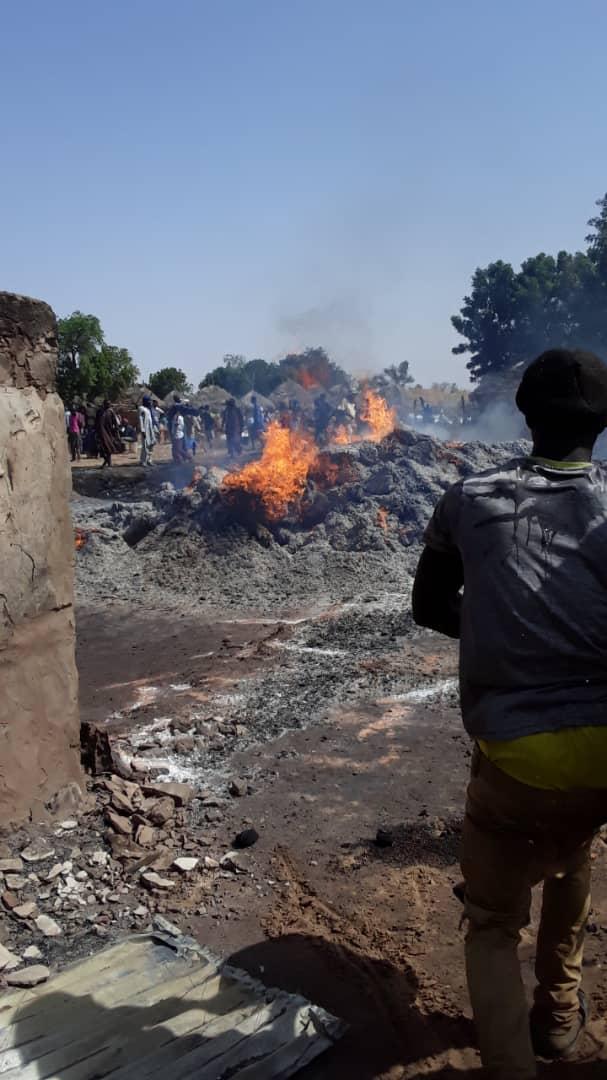 Koumpentoum / Payar : Le village de Nayom Wilanène réduit en cendres.