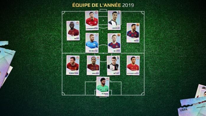 Onze type UEFA 2019 : Sadio Mané aligné aux côtés de Messi et Cristiano Ronaldo…