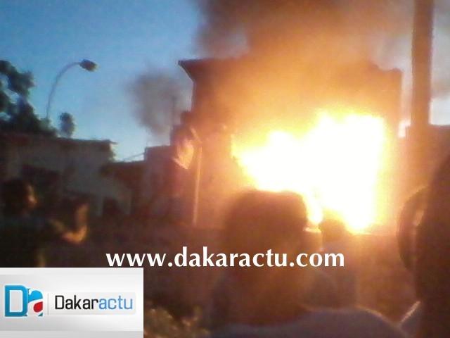 Urgent : Le foirail de Sicap Mbao en feu...
