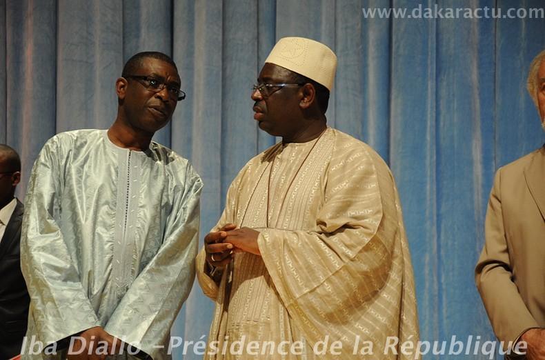 Les images de Macky Sall et Youssou Ndour à l'ouverture du dak'art 2012 au Grand théatre