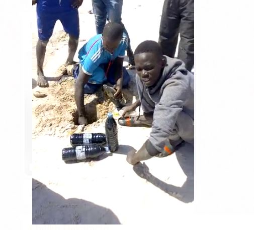 Pollution aux hydrocarbures sur la plage de Thiaroye : Prise de mesures pour atténuer la pollution et prévenir les risques
