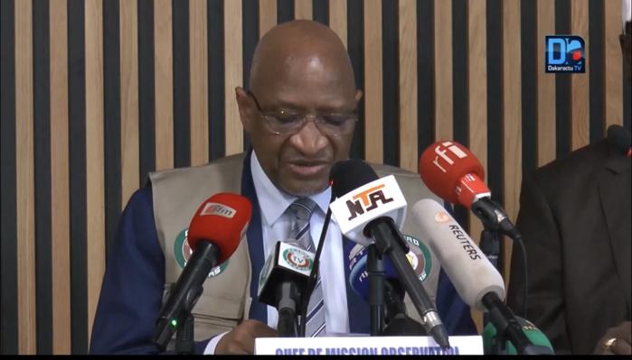 Guinée Bissau : Satisfaite du déroulement de la présidentielle, la CEDEAO félicite Umaro Sissoco Embalo.
