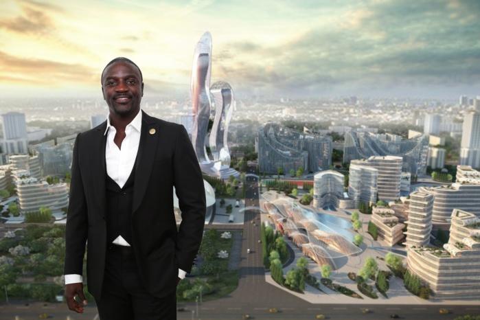 Crytomonnaie, Akon City : Révélations sur les associés du rappeur Américano-Sénégalais.