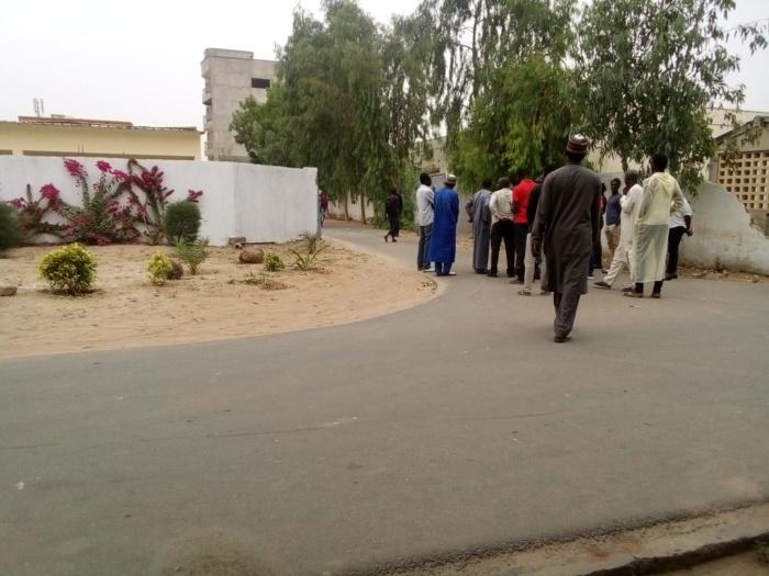 Meurtre du jeune américain : Une délégation de l'ambassade des États-Unis au Sénégal et le Procureur de la république, à l'hôpital régional de Kaolack (Images)