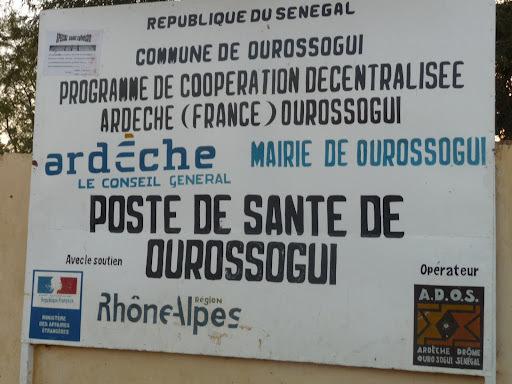 La cours de répression de l'enrichissement illicite : l'Hôpital d'Ourossogui vous invite !!!