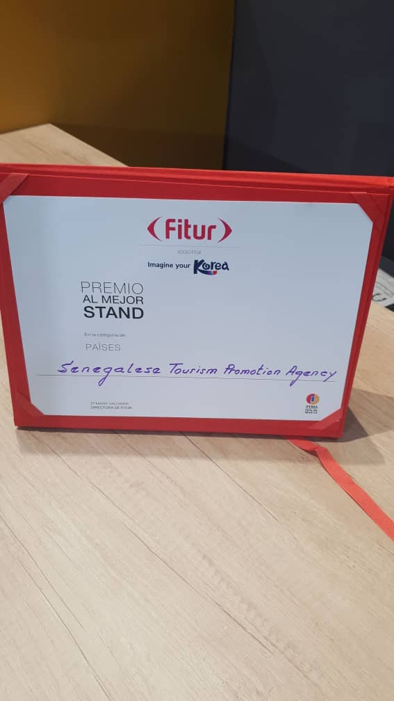 Salon Fitur2020 (Madrid) : Le Sénégal « meilleur stand » de l'édition et élu à la tête du Comité Tourisme et Compétitivité de l'OMT.