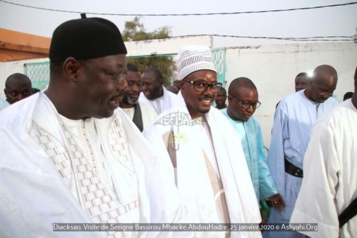 (Images) GAMOU DE DIACKSAO / Cheikh Bass Abdou Khadre Mbacké porteur d'un message du Khalife de Touba, parrain de l'édition 2020