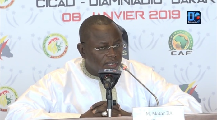 Pose de la première pierre du stade Olympique : Le ministre des sports espère une forte mobilisation des sportifs.