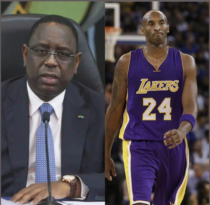 L'hommage du président Macky Sall à Kobe Bryant : « C'est une grande Légende du basket qui disparaît ainsi »